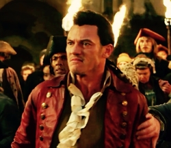 Custom Made Gaston's Uniform Suit Costume by Jacqueline Durran (Costume Designer) in Beauty and the Beast