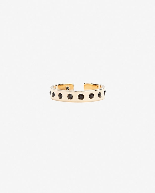 Mixed Crystal Double Ring Set by Maria Francesca Pepe in Jem and the Holograms