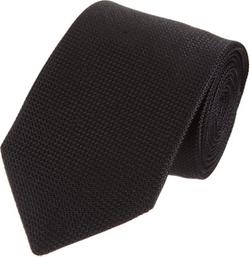 Black Textured Silk Tie by Barneys New York in Survivor