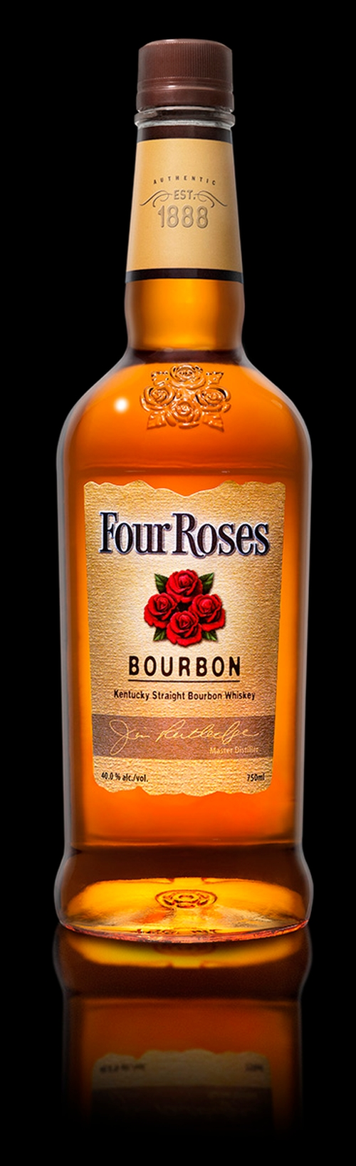 Yellow Label Bourbon Whiskey by Four Roses in Jessica Jones - Season 1 Episode 10