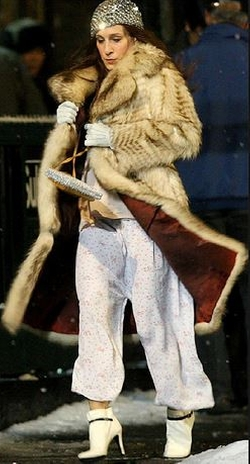 Selected By Patricia Field (Costume Designer) by Vintage Fur Coat in Sex and the City