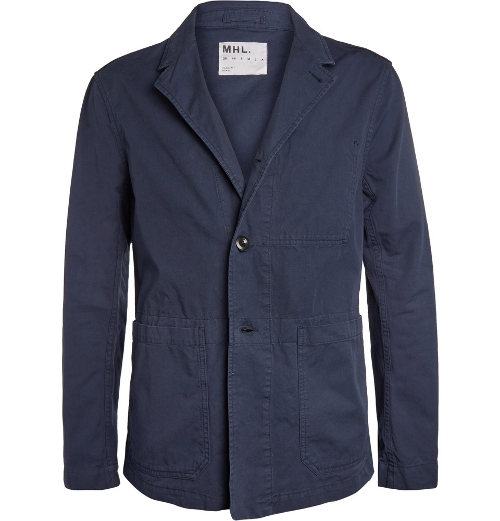 Washed Cotton-Twill Jacket by Margaret Howell in The Second Best Exotic Marigold Hotel