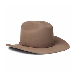 Statesman Leather-Trimmed Felt Hat by Kingsman + Stetson in Kingsman: The Golden Circle
