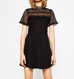 Lace Dress by Zara in Riverdale