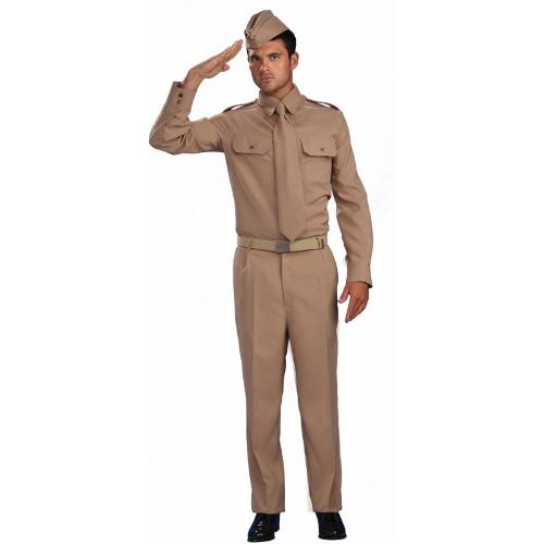 World War II Private Adult Costume by Power Costumes in Unbroken