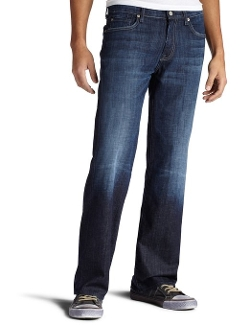 Austyn Relaxed Straight Leg Jeans by 7 For All Mankind in Thor