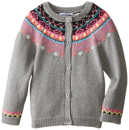Fair Isle Cotton Cardigan Sweater by Hartstrings in Modern Family