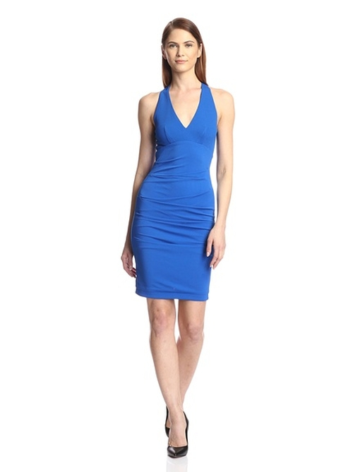Matte Jersey Sheath Dress by Yigal Azrouel in The Women