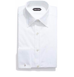 Basic French Cuff Dress Shirt by Tom Ford in Suits