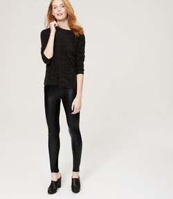 Tall Faux Leather Legging by Loft in Jem and the Holograms