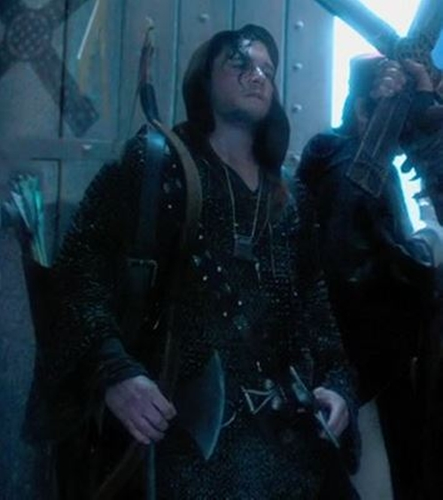 Custom Made Medieval Mercenary Costume (Billy Bradley) by Jacqueline West (Costume Designer) in Seventh Son