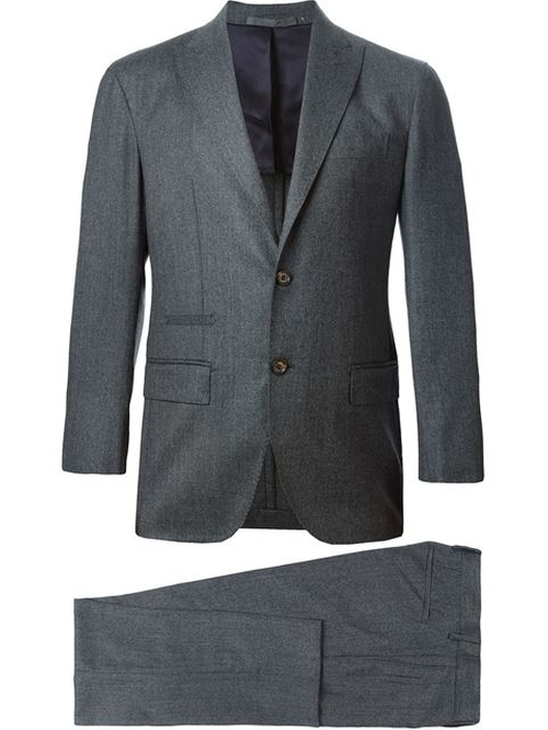 Two Piece Suit by Eleventy in Quantico - Season 1 Episode 4