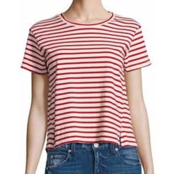 Twist Striped T-Shirt by Amo in Pitch Perfect 3
