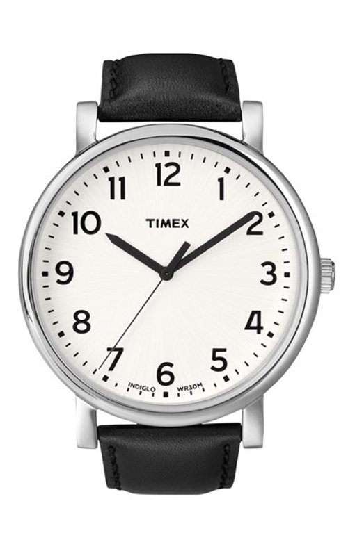 'Easy Reader' Leather Strap Watch by Timex in If I Stay