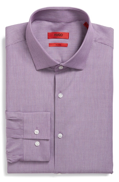 'EastonX' Slim Fit Dress Shirt by Hugo in Our Brand Is Crisis