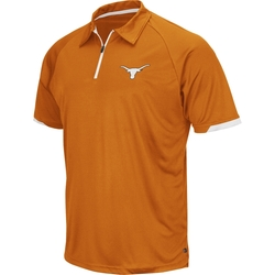 Men's Texas Longhorns Burnt Orange Fairway Quarter-Zip Polo Shirt by Chiliwear in My All American