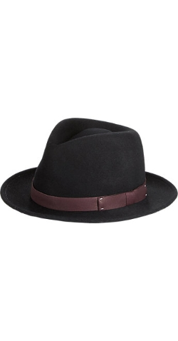 Francis Fedora Hat by Mr. Kim in Southpaw