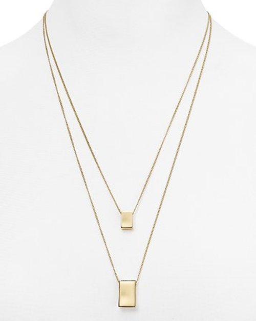 Dylan Layered Pendant Necklace by Aqua in Scott Pilgrim Vs. The World