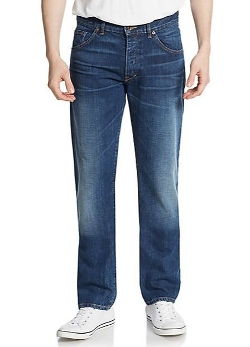 Jones Thin Straight-Leg Jeans by Raleigh Denim in Dope