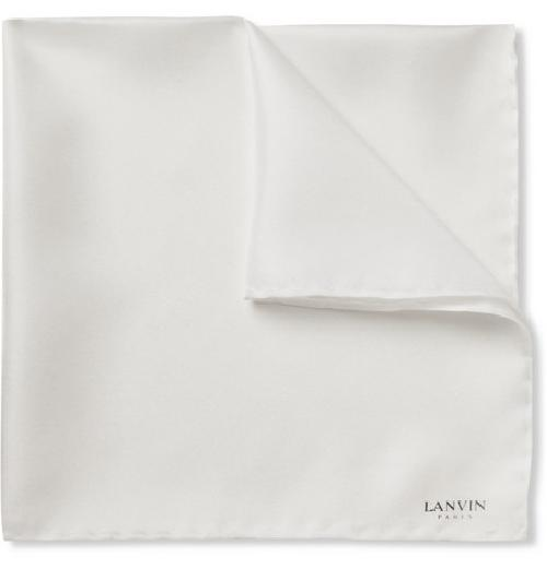 Linen Pocket Square by John W. Nordstrom in Blended