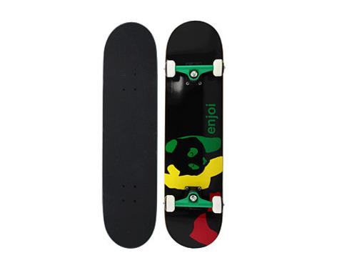 Rasta Panda Complete Skateboard by Enjoi in Laggies