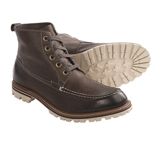 Tall Work Boots by John Varvatos Star USA in The Visit