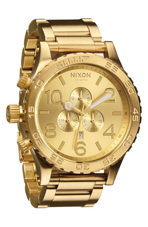 'The 51-30 Chrono' Watch by Nixon in The Wolf of Wall Street