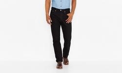 Men's Black Denim 505 Jeans by Levi in Jurassic World