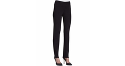 Slim Ponte Pants by Eileen Fisher in Animal Kingdom