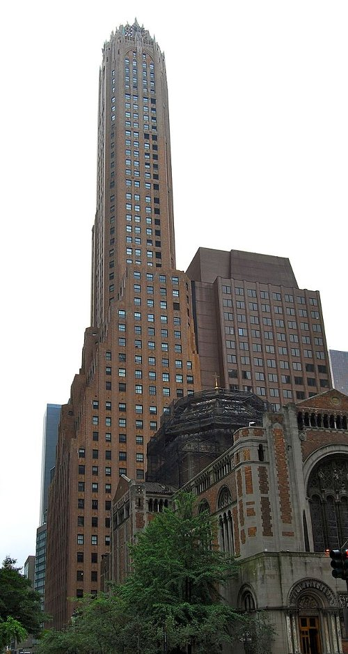 General Electric Bldg New York City, New York in John Wick