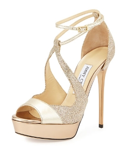 Valdia Textured Leather Glitter Pumps by Jimmy Choo	 in Furious 7
