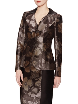 Floral Jacquard Blazer by Armani Collezioni in The Good Wife