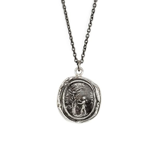 Challenge Talisman Necklace by Pyrrha in Into the Forest