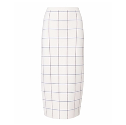 Check Midi Skirt by Victoria Beckham in Suits
