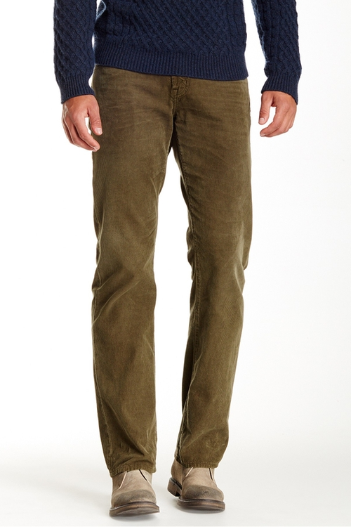 Protege Corduroy Straight Leg Pant by AG in The Choice