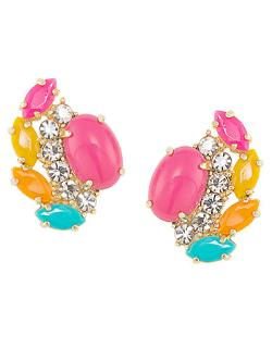 Rio Radiance Floral Crystal Cluster Earrings by Carolee in Lee Daniels' The Butler
