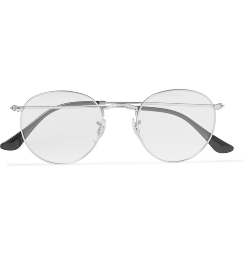 Round-Frame Metal Optical Glasses by Ray-Ban in Spotlight