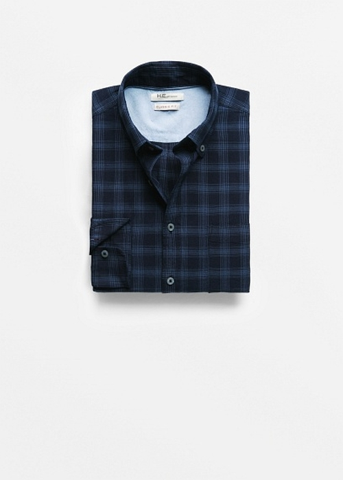 Classic-Fit Check Shirt by Mango in Modern Family