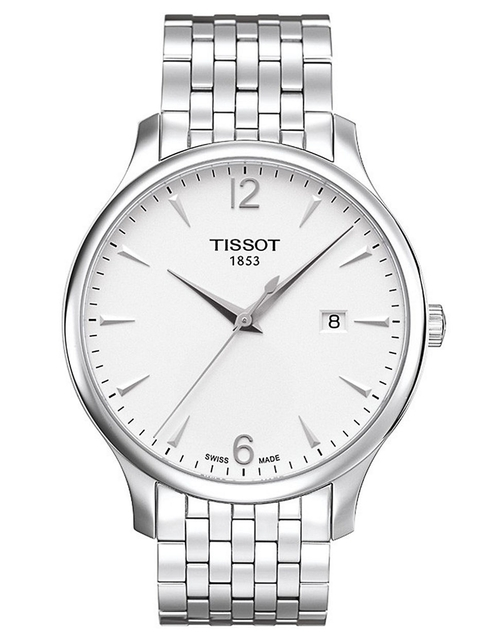 Mens Tradition Quartz Stainless Steel Watch by Tissot in The Hangover