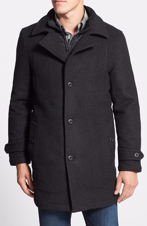 Westown Wool Blend Coat by Rodd & Gunn in Empire - Season 2 Episode 13