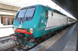 Trenitalia FS Class E.464 Electric Locomotive Train by Bombardier in The American