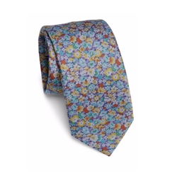 Men's Blossom Floral Tie by Bar III in The Bachelor