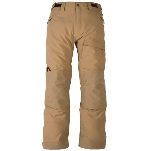 Magnum Soft Shell Insulated Ski Pants by Flylow in Everest