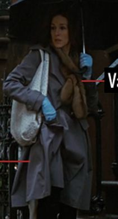 Gray Trench Coat by Vionnet in Sex and the City