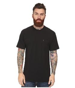 Slub Pocket Knit Crew T-Shirt by Crooks & Castles in Self/Less