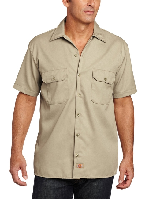 Short-Sleeve Work Shirt by Dickies in Scout's Guide to the Zombie Apocalypse