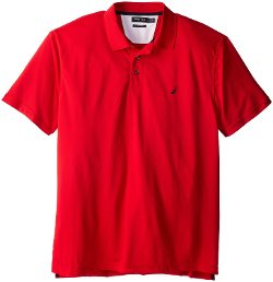Men's Tech Pique Polo Shirt by Nautica in McFarland, USA