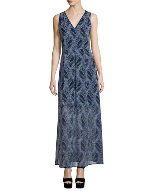 Burrel A-Line Maxi Dress by Michael Michael Kors in Mistresses - Season 4 Episode 8