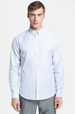 'Zack Elberta' Trim Fit Sport Shirt by Theory in And So It Goes