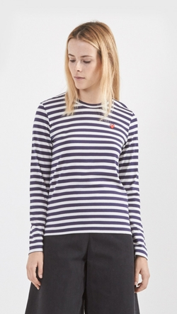 Stripe Long Sleeve Shirt by Comme Des Garcons Play in We Are Your Friends
